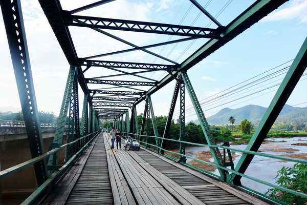 pai memorial bridge, tha pai world war 2 memorial bridge, tha pai memorial bridge