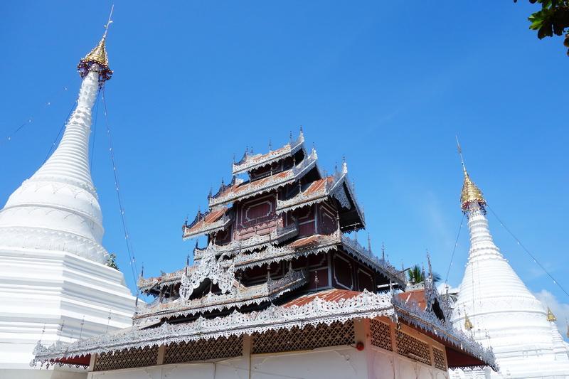 phrathat doi kong mu temple, wat phrathat doi kong mu