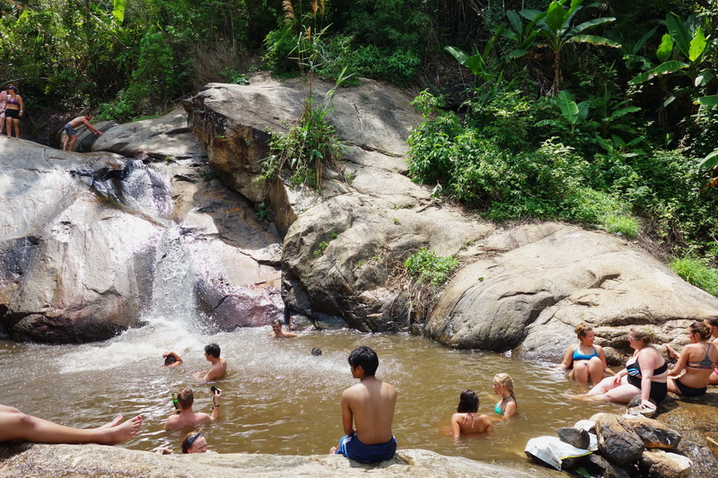 mo paeng waterfall, mor pang waterfall, morpang waterfall, mor paeng waterfall