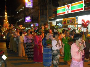 chong phara tradition, chong phara tradition mae hong son, poi learn sib ed, poi learn sib ed mae hong son