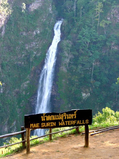 mae surin waterfall national park, mae surin waterfall national park in mae hong son, namtok mae surin national park, namtok mae surin national park in mae hong son, national park in mae hong son