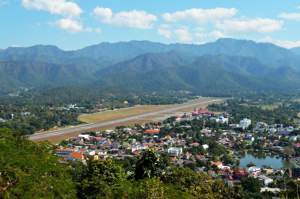 pai airport, pai mae hong son airport