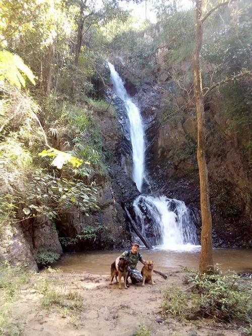 mae yen waterfall, maeyen waterfall, waterfall in pai, mae yen waterfall in pai, maeyen waterfall in pai