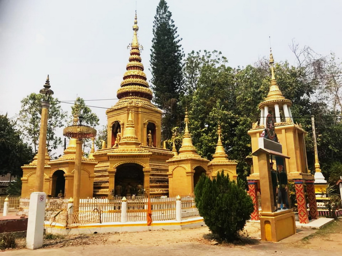wat klang, klang temple in pai, klang temple, wat klang in pai